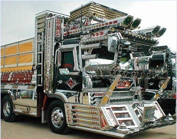 Baustellen LKW getunt