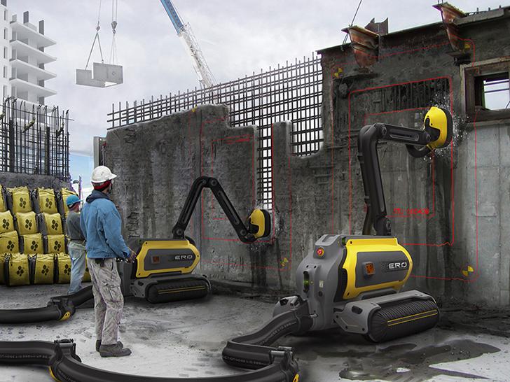 betonabtrags roboter