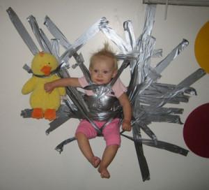 2 Dauct Tape Babysitter
